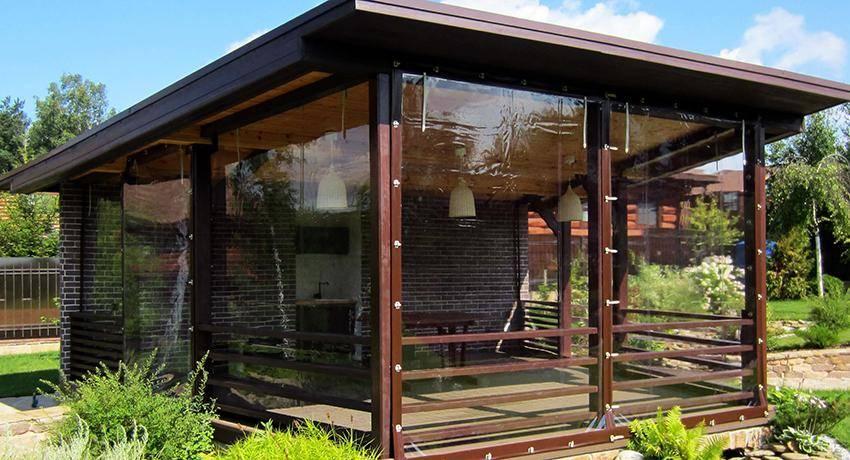 Мягкие окна для беседок, веранд и террас: эстетика и польза