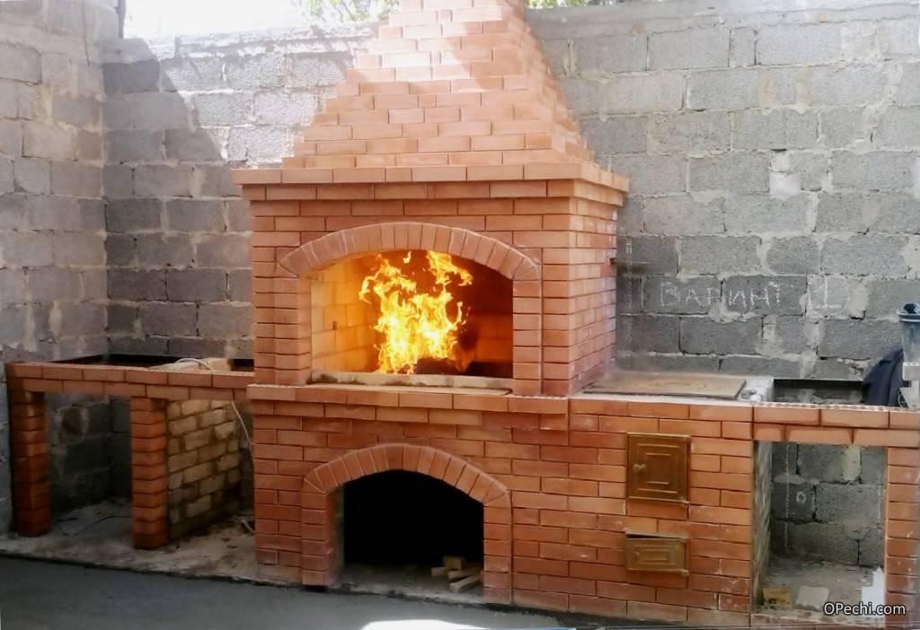 Барбекю из кирпича - лучшие схемы, чертежи, идеи и советы по постройке барбекю (140 фото)