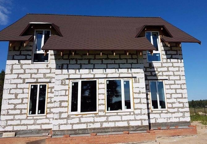 Варианты отделки пеноблоков - чем отделать фасад?