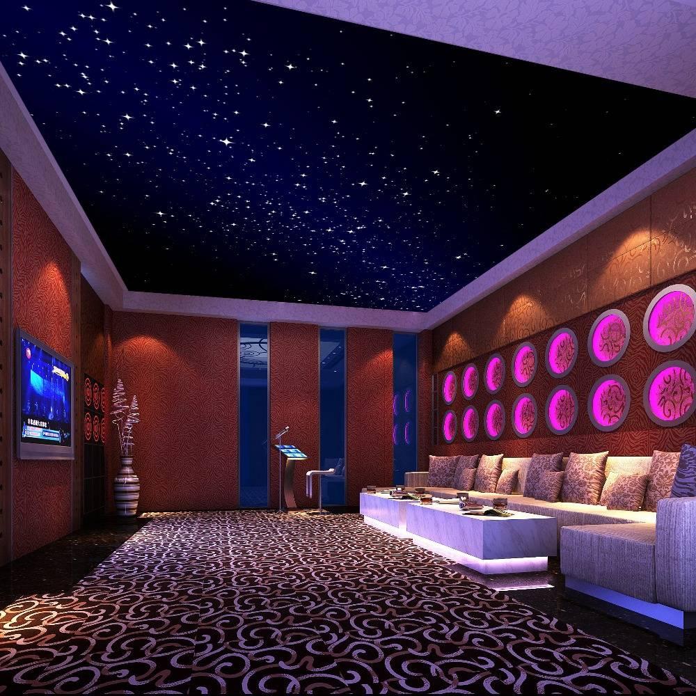 Эффект «звездное небо» на натяжных потолках: как это смотрится
