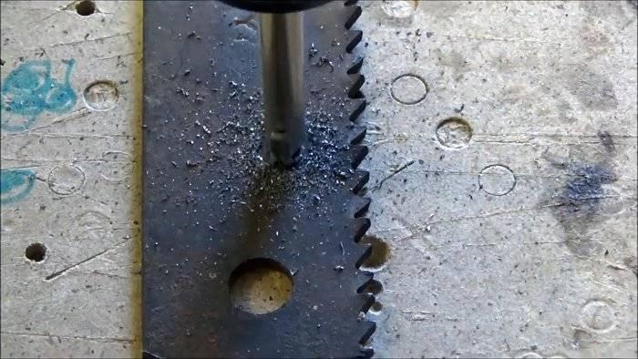 Как сделать отверстие в закаленной стали без сверления
