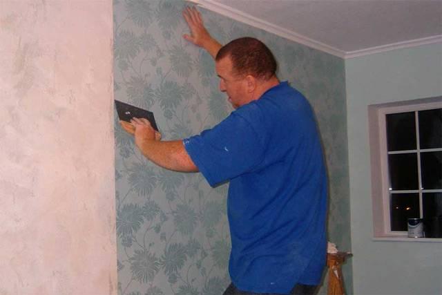 Чем покрасить стены перед поклейкой светлых обоев - клуб мастеров
