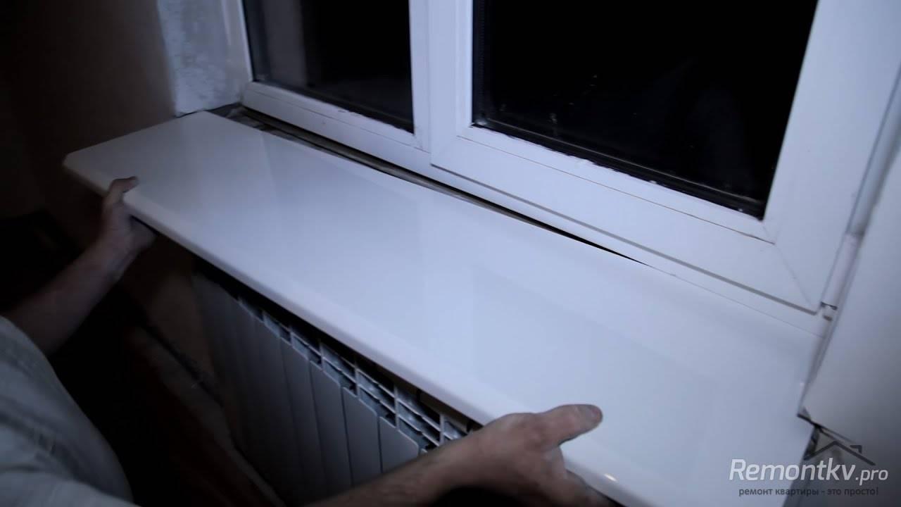 Установка откосов на пластиковые окна своими руками: как поставить правильно?