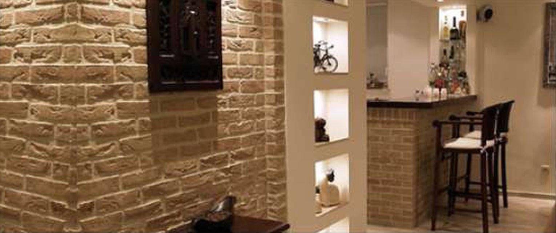 Способы отделки помещения стеновыми панелями под кирпич