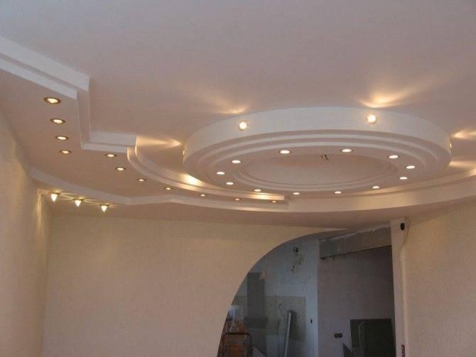 Одноуровневый потолок из гипсокартона своими руками | gipsokart.ru