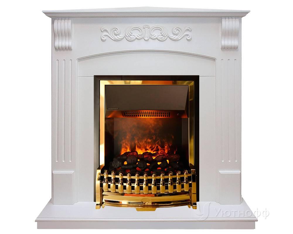 Угловой электрический камин с эффектом живого пламени: фото, как выбрать
