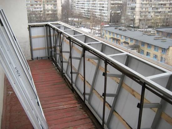 Расширение балкона (37 фото): проект без разрешения и гост по основанию плиты в хрущевке