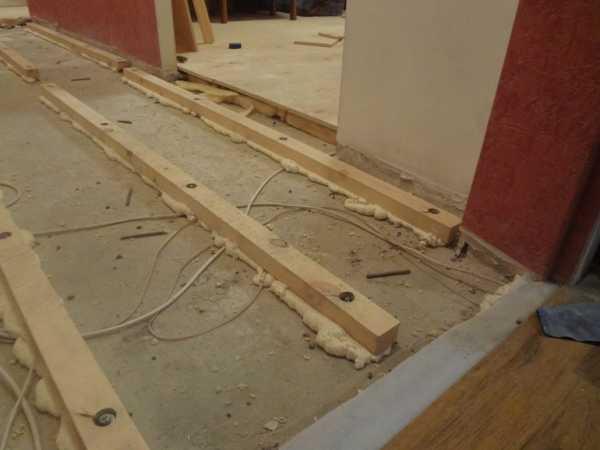 Гидроизоляция под плитку в деревянном доме