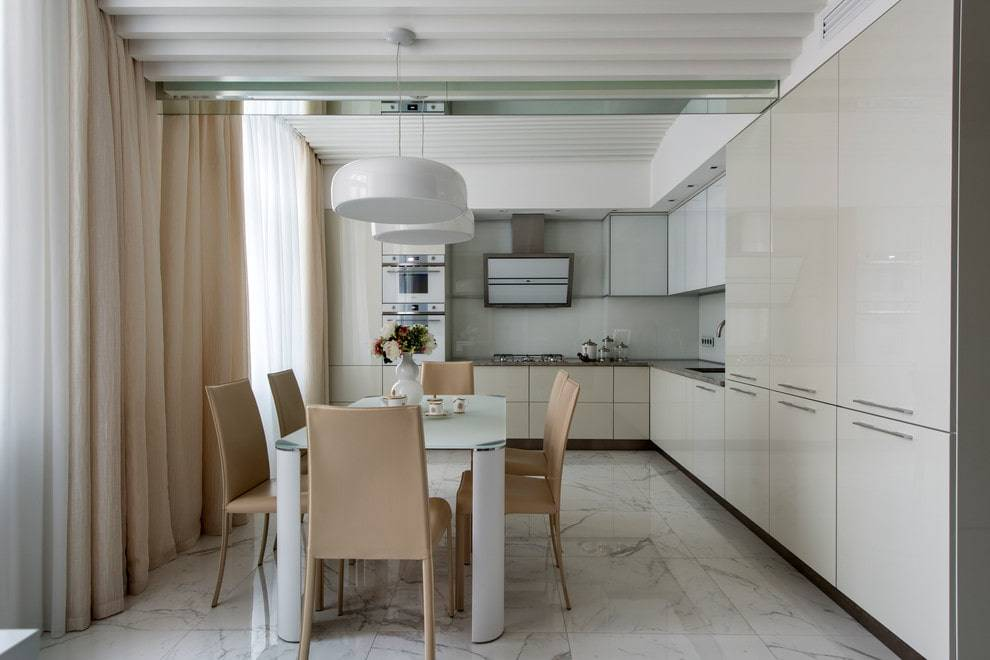 Дизайн прямой кухни: 70+ реальных фото примеров