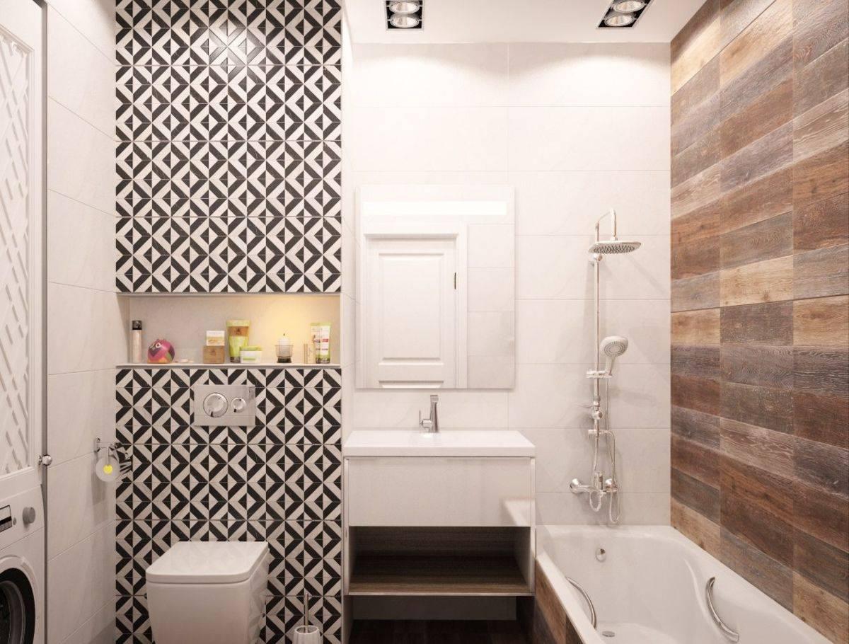 Применение керамогранита в стильном дизайне ванной