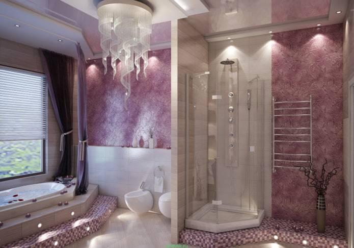 Отделка стен в ванной комнате штукатуркой: какую выбрать, правила нанесения