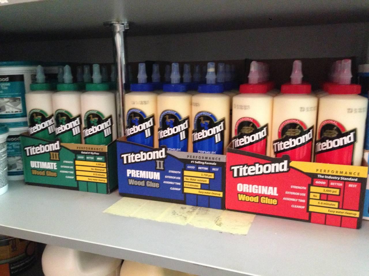 Titebond heavy duty сверхсильный клей (желтая туба) - titebond - монтажные клеи, герметики. промышленные клеи для дерева.