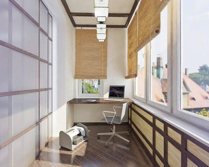 Стильный дизайн лоджии 2021-2022 - фото, красивый интерьер лоджии - топ 50 идей