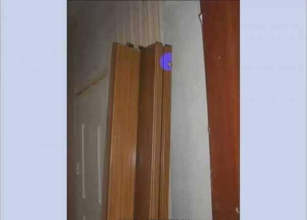 Как установить дверь гармошку своими руками: шаг за шагом
