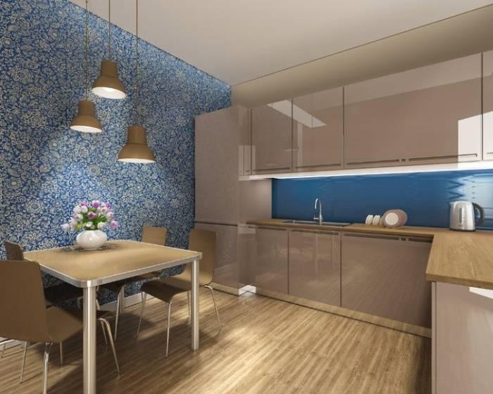 Обзор вариантов отделки стен на кухне: 60 фото