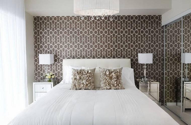 Акцентированная стена в дизайне интерьера с ручной росписью акцентированная стена в дизайне интерьера с ручной росписью