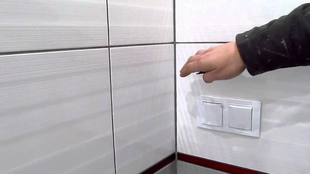 Уголки для плитки в ванной: сравнение 4 разновидностей