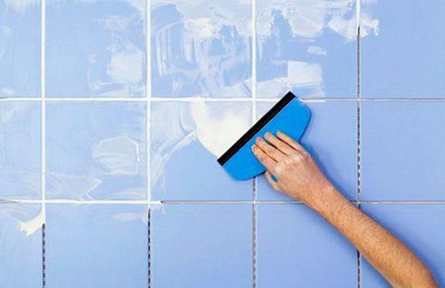 Как затирать швы на плитке: правильная затирка своими руками