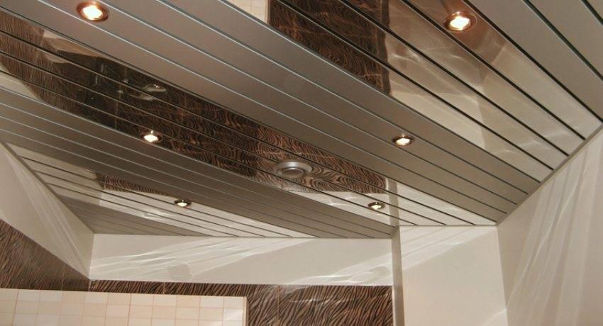 Реечный потолок в ванной: материалы и инструкция по выполнению работ. установка каркаса, монтаж панелей, советы специалистов