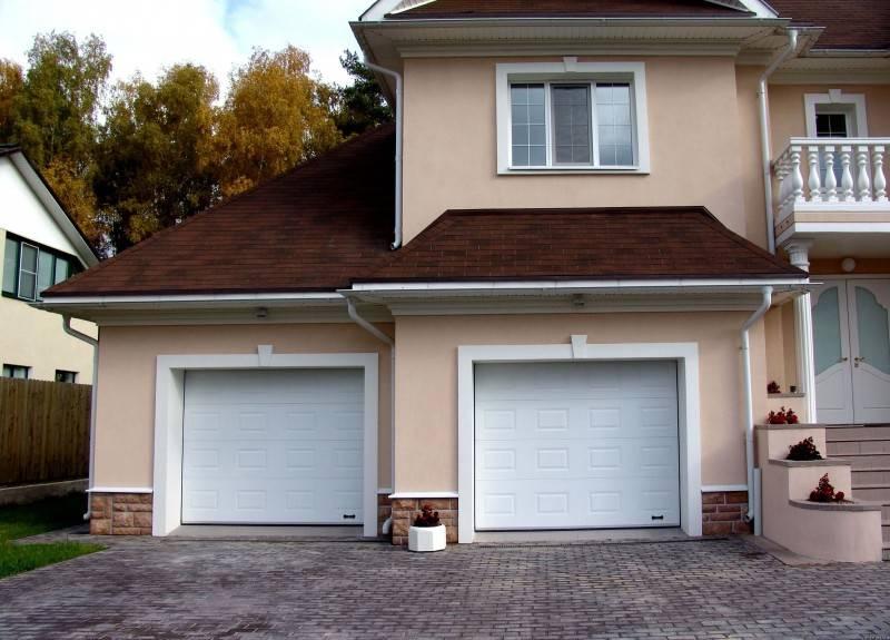Виды и размеры роллетных гаражных ворот, их достоинства и недостатки