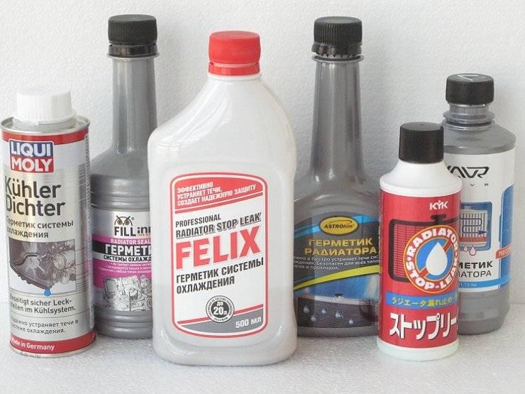 Герметик для радиатора отопления: виды и применение