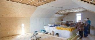 Дизайн потолков из вагонки для мансардных крыш и какой лучше обшить своими руками