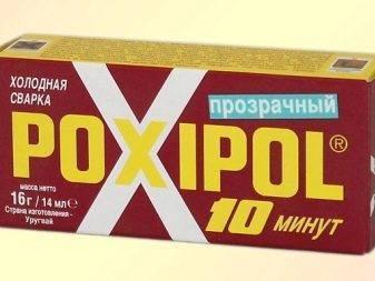 Клей холодная сварка прозрачная poxipol:характеристики,инструкция