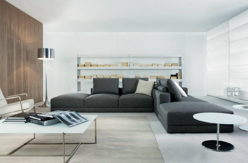 Модульный диван в гостиной | виды, правила выбора и размещения в интерьере