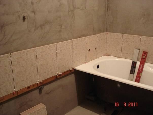 Как правильно заделать шов между стеной и ванной
