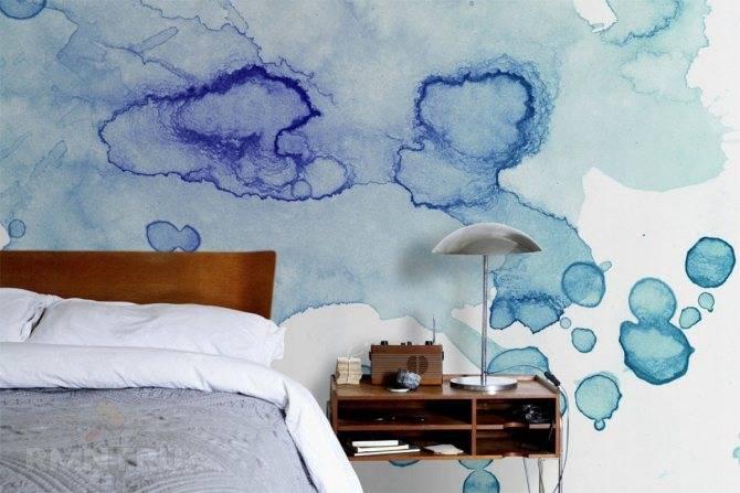 Как сделать градиент краской на стене. градиентная растяжка цвета: как выполнить модный прием окраски стен. как покрасить стены омбре