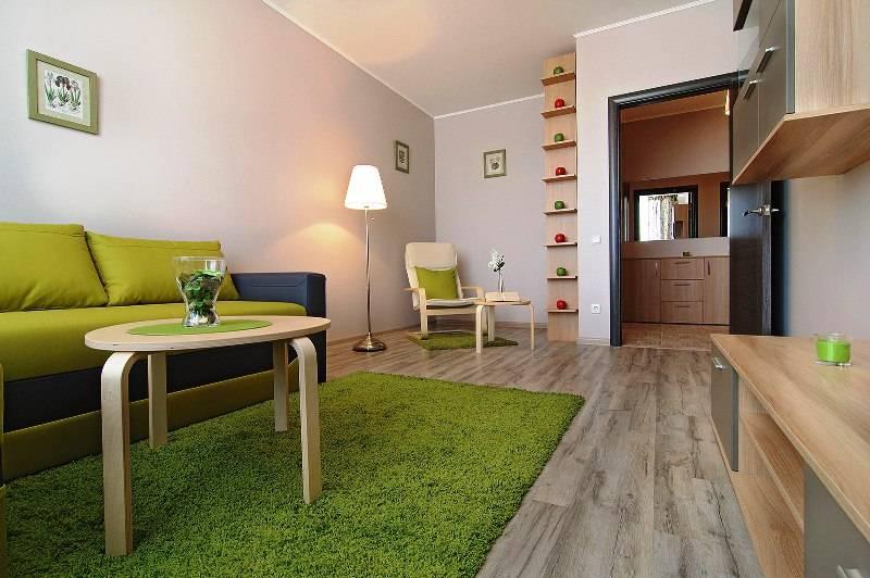 Интерьер однокомнатной квартиры 40 кв м фото в современном стиле