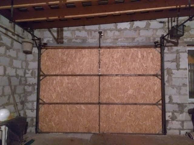 Ворота рольставни на гараж своими руками