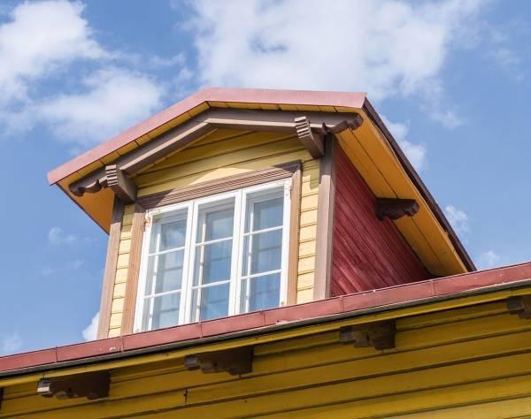 Люкарна: роскошный элемент загородного дома