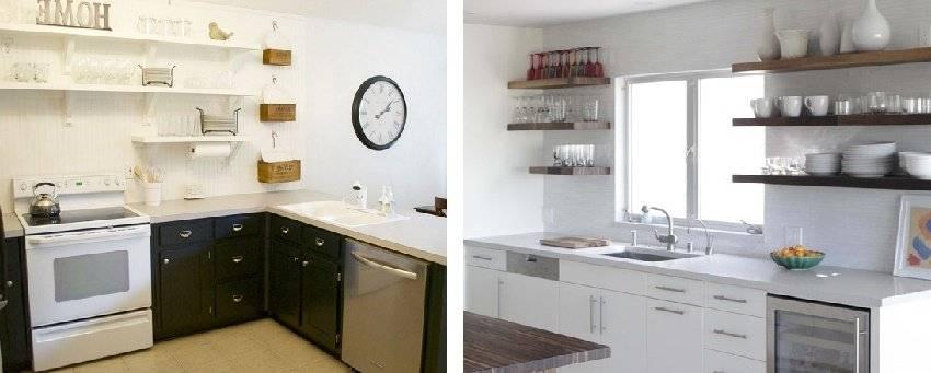 Косметический ремонт кухни – дешево и красиво