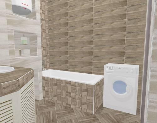 Плитка для ванной дерево