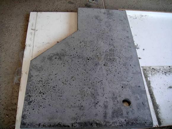Столешница из бетона - делаем своими руками