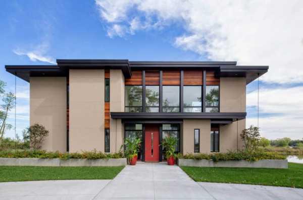Дом с плоской крышей - современное комфортабельное жилье