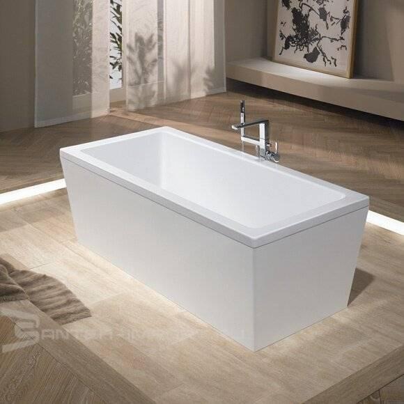 Выбор ванны в ванную комнату (84 фото): какую выбрать для маленького и большого помещения, сидячую на ножках или ванну-кабину