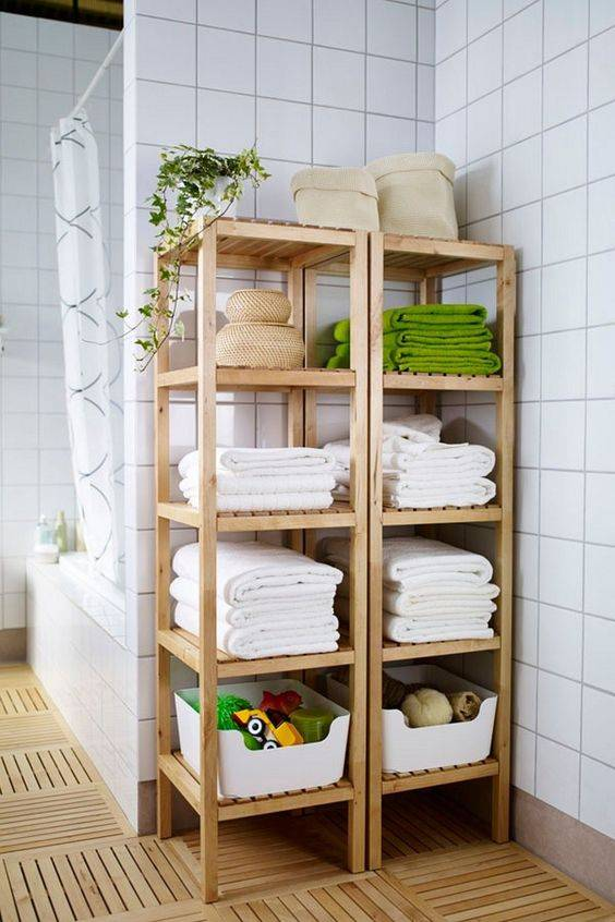 Полки для ванной комнаты — советы по выбору, лучшие дизайнерские решения и оптимальные материалы для полок (130 фото и видео)