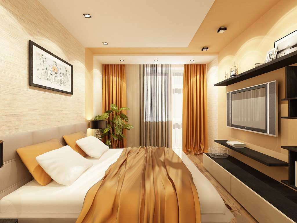 Дизайн маленькой спальни 6-7 кв. м