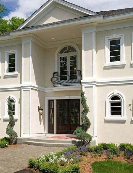 Классический стиль в частной архитектуре, фото – rehouz