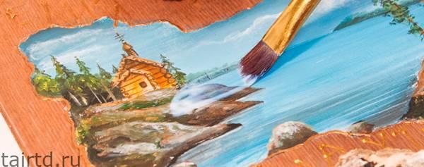 Преимущества акриловых красок и их применение