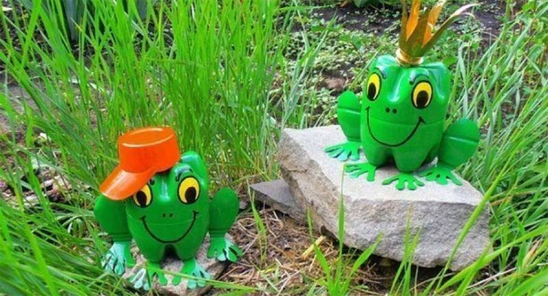 Поделки из пластиковых бутылок для детей своими руками, 7 мастер-классов