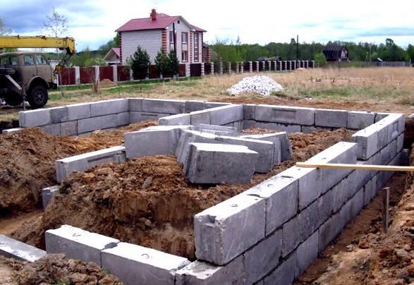 Фундаментные блоки сплошные (фбс): размеры, цена, маркировка