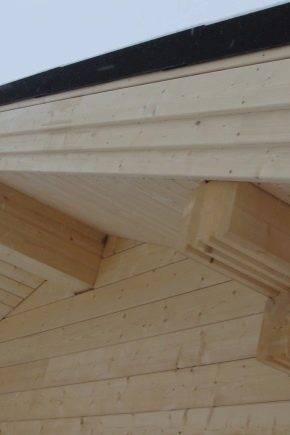 Подшивка карнизов крыши: инструкция, материалы, инструменты