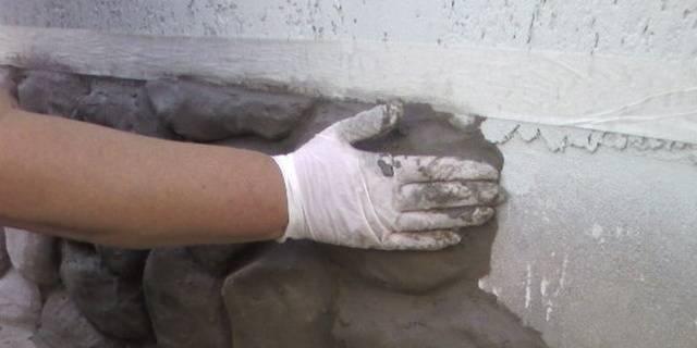 Искусственный камень для цоколя