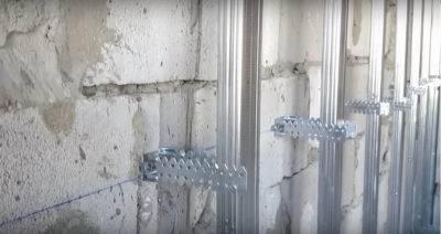 Урок 03. как крепить профиль для гипсокартона к стене (каркас)
