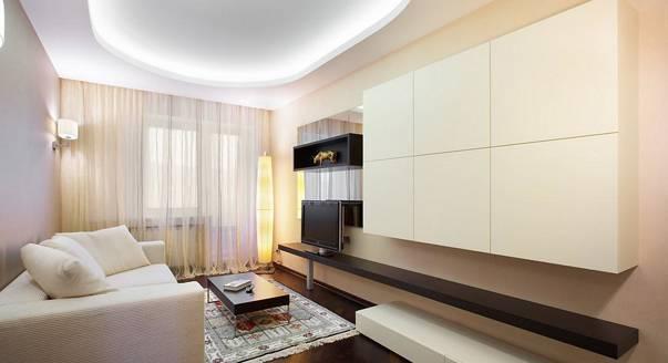 Кухня-гостиная 20 кв. м: дизайн, реальные фото с зонированием, интерьер и планировка прямоугольной комнаты в частном доме, с двумя окнами, балконом