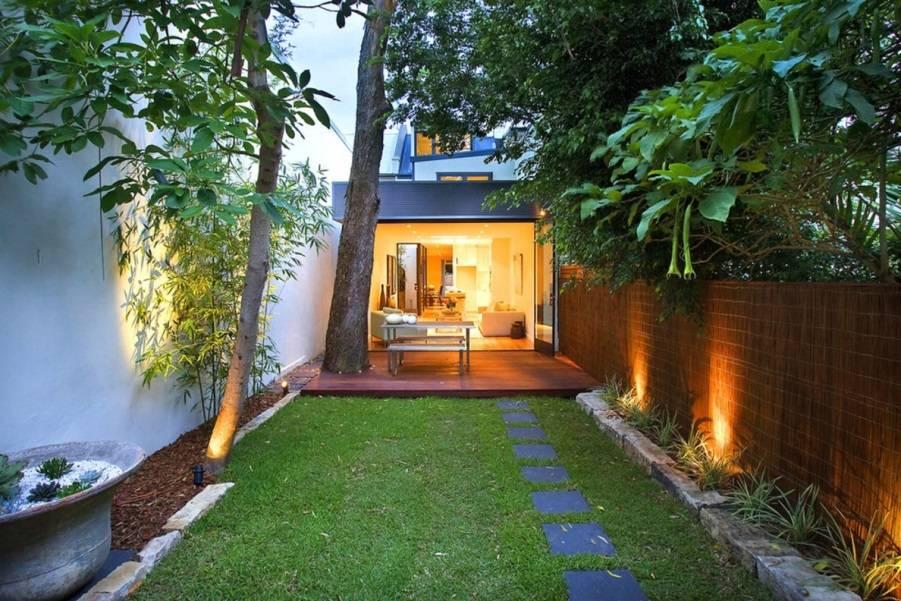 Простой ландшафтный дизайн на маленьком дачном участке