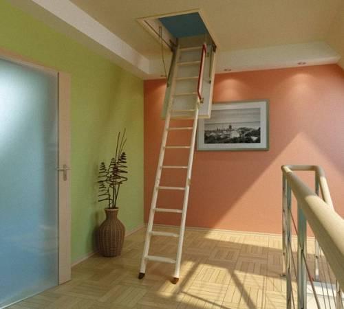Лестница чердачная своими руками - видео о монтажа и установке лестницы